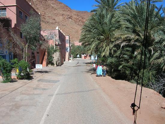 Tinerhir, Maroc : sur la route des gorges