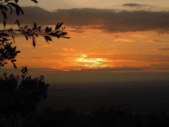 Mara Siria Camp: Sonnenaufgang