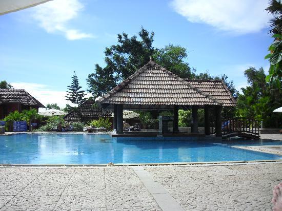 Poovar Island Resort: The pool