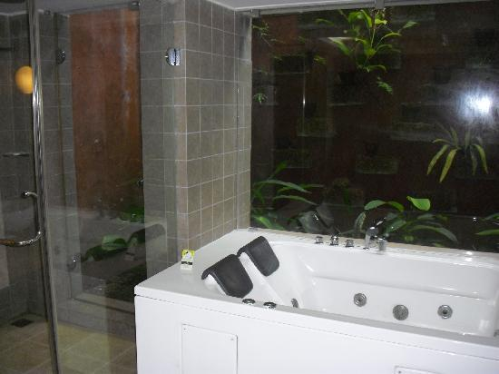 Poovar Island Resort: large premium cottage bathroom
