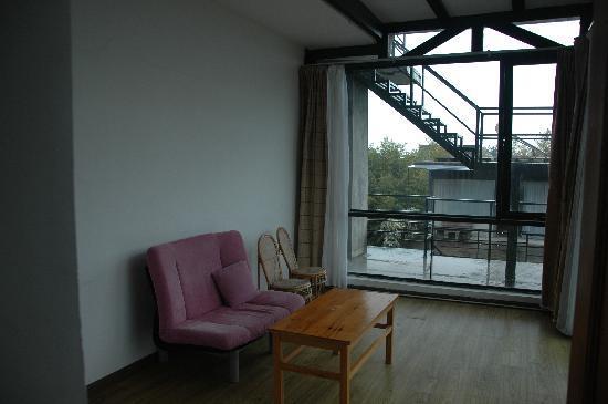 Fengyue Landscape Inn : living room