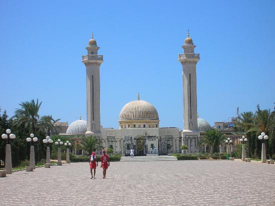 Monastir, Tunisie : palais habib bourguiba