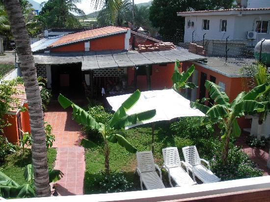 Posada Casa Rosa: View from the terrace of our room
