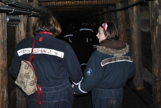 """Salzbergwerk Berchtesgaden: Easy to walk through the tunnels (I'm 6'5"""" and had no problems with height)"""