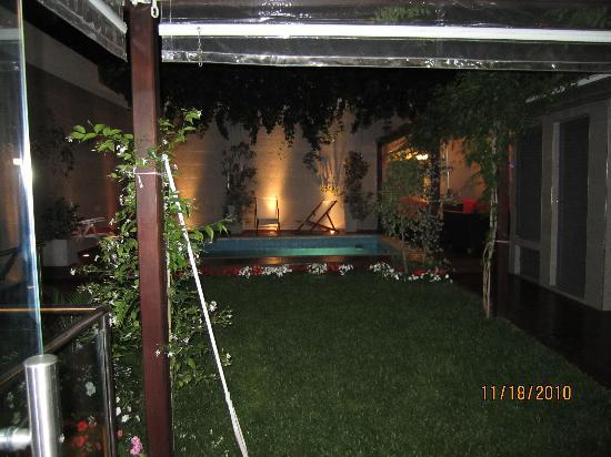 Duque Hotel Boutique & Spa: Rear garden and pool
