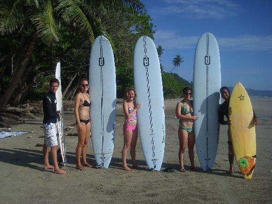 El Rey Patricio: surf school