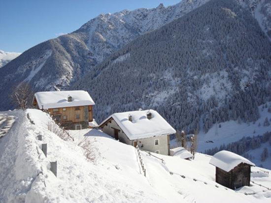 La Thuillettaz  B&B : Inverno a Thuillettaz
