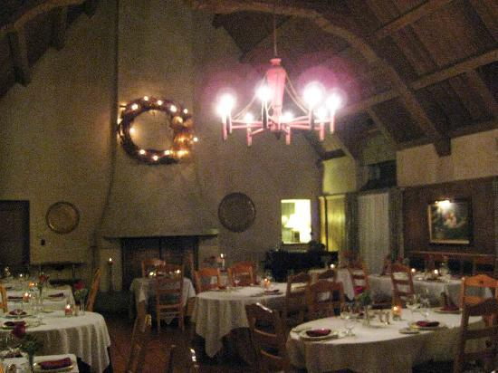 The French Manor Inn and Spa: The dining hall