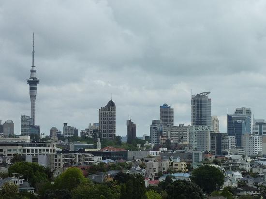 Quality Hotel Parnell: Blick vom Balkon