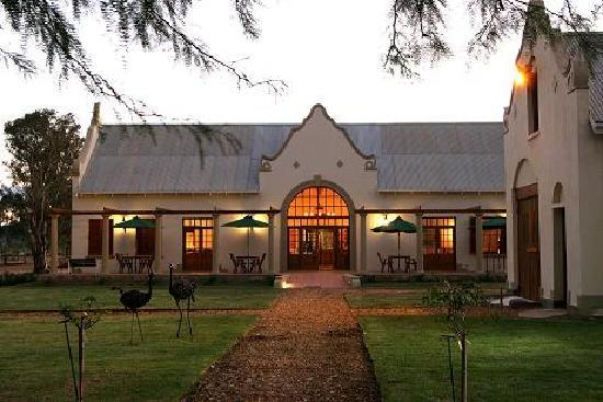 Rietfontein Ostrich Palace: Reception & Restaurant