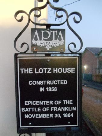 Franklin, TN: Historic Marker