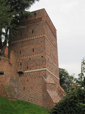Torun, Poland: tour d'angle