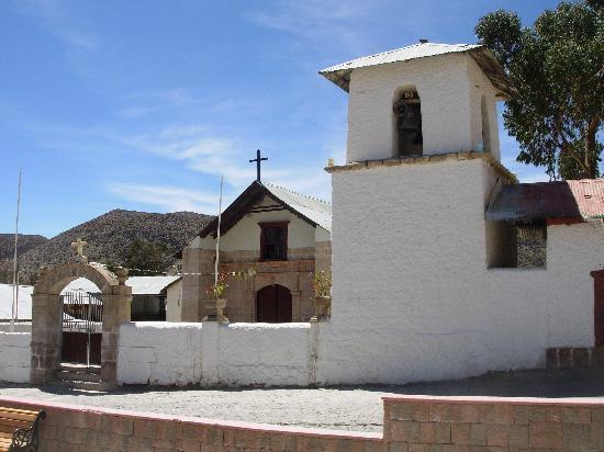 Hostal Pachamama : Iglesia de Putre