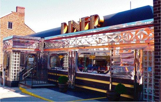 Court Street Diner: Diner Front