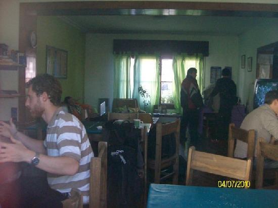 Hostel Estacion Mendoza: interaccion