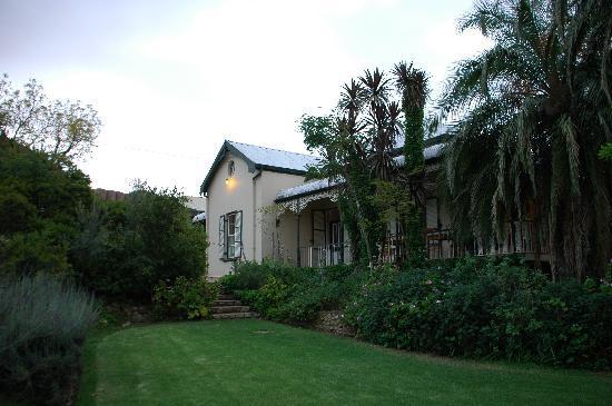 Calitzdorp, Zuid-Afrika: Veranda des Groenfontein Retreat