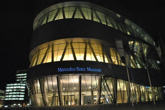 Stuttgart, Germany: Mercedes Benz Museum