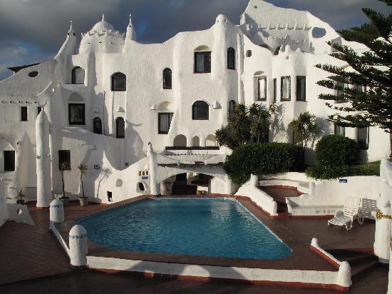 Club Hotel Casapueblo : One of the two pools at the hotel