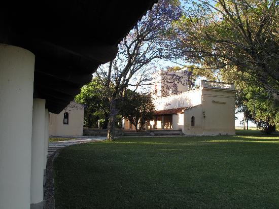 Some of the buildings at La Sirena