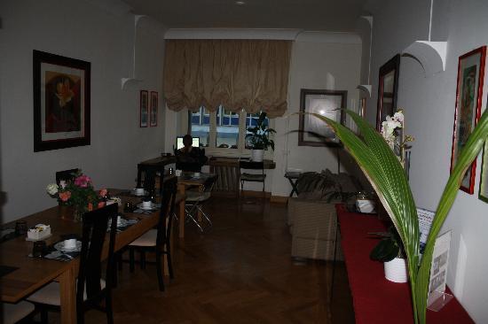 دوموس كافور: The breakfast room