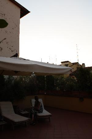 Soggiorno Rondinelli: Another patio picture (we loved it!)