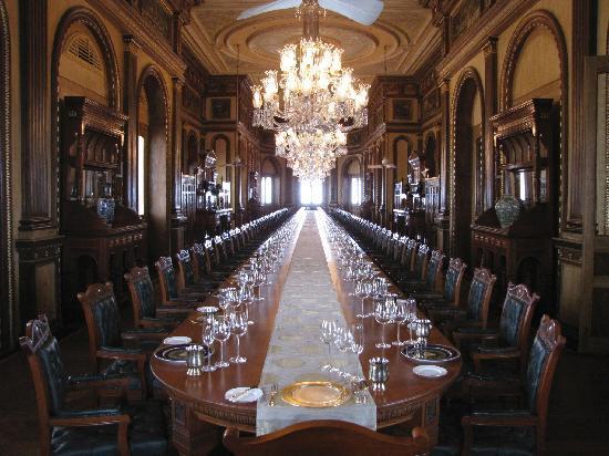 Taj Falaknuma Palace: Nizham's dining room