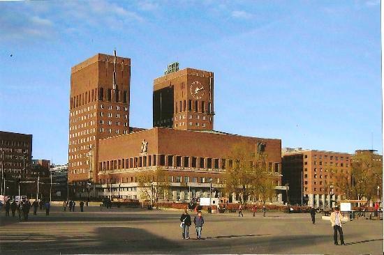 Oslo, Norway: l'hotel de ville