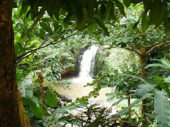 St. George's, Grenada: waterfall
