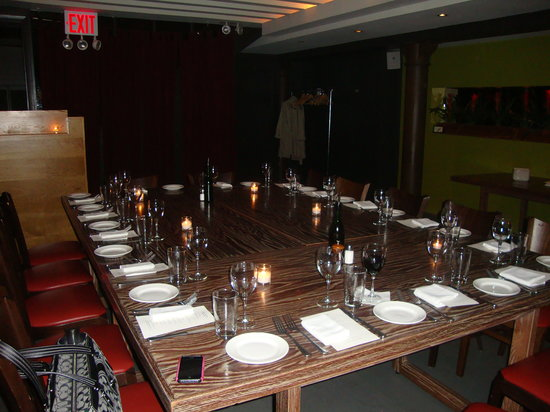 Amazing Jane: Private Dining Area