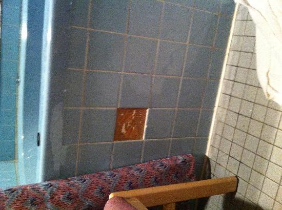 Victorian Inn: Missing tile