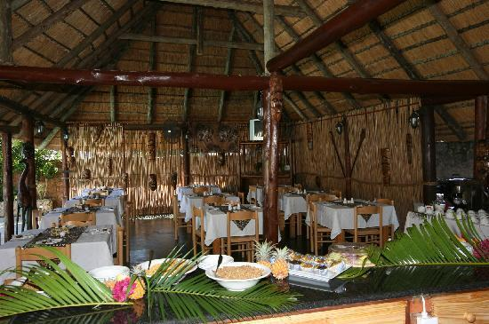 St. Lucia Safari Lodge: Breakfast Setting