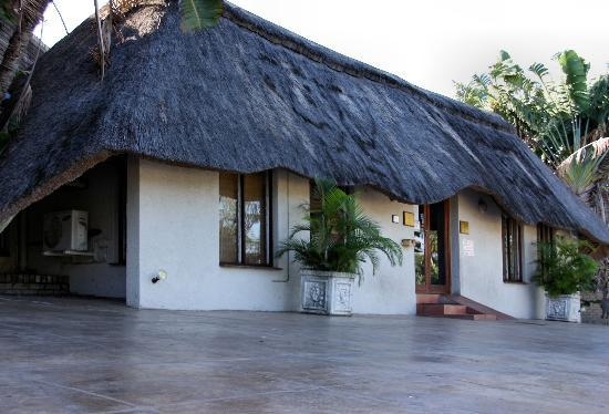 St. Lucia Safari Lodge: Entrance