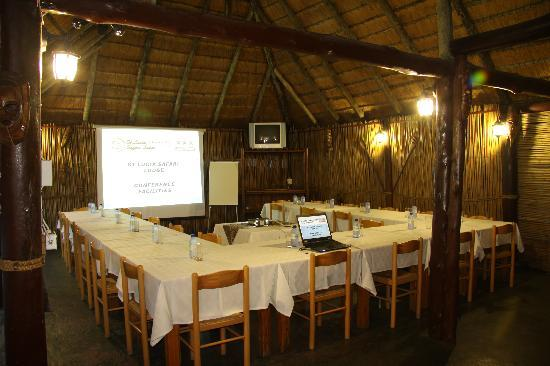 St. Lucia Safari Lodge: Conference Setting