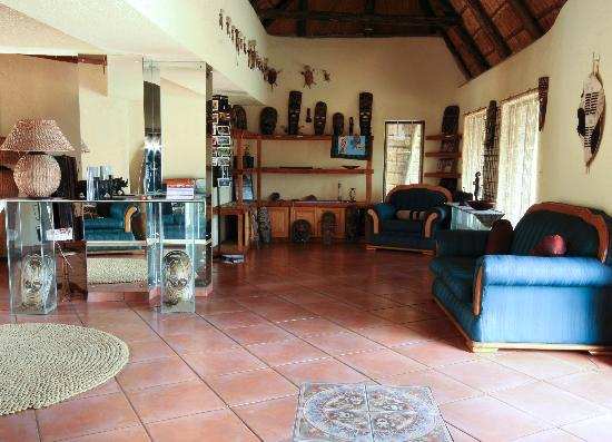 St. Lucia Safari Lodge: Reception Area