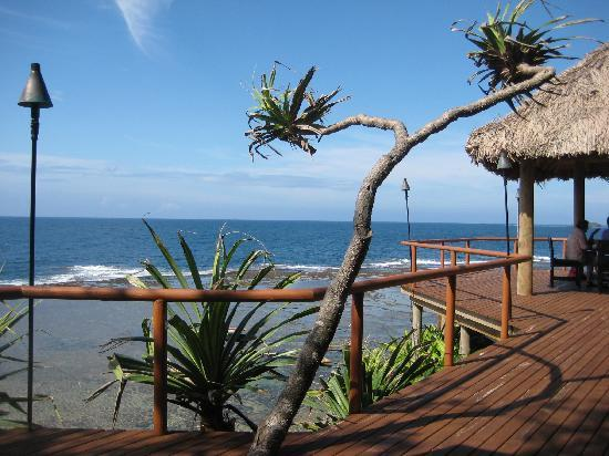 Namale Resort & Spa: View from Breakfast