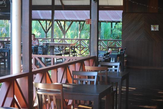 Nipah Lodge: Dining area