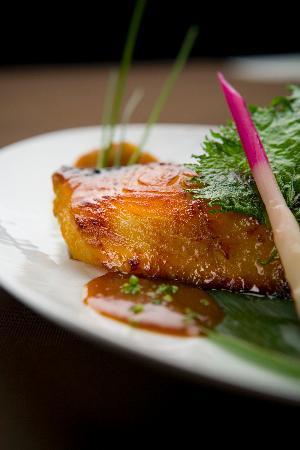 Kiku Members Club : Black cod marinated with miso