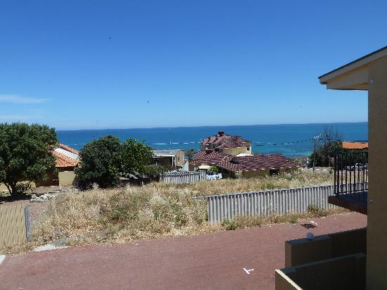 Ocean View Motel: Blick aus dem Zimmer
