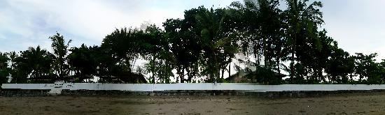 Legong Keraton Beach Hotel: from the beach
