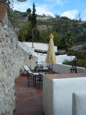 Cuevas El Abanico: top deck