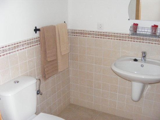 Hostal Fenix: baño completo