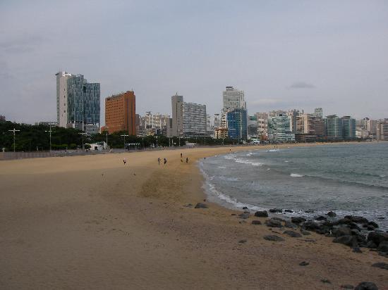 Haeundae Beach: 海雲台の海岸
