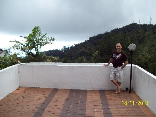 The Pines Resort: The wonderful wide balcony