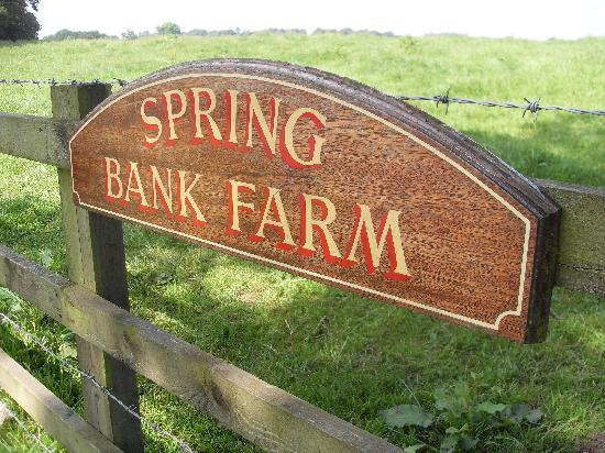 Spring Bank Farm Bed and Breakfast: A warm welcome