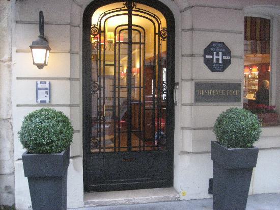 Hotel Residence Foch: 5 Star service!