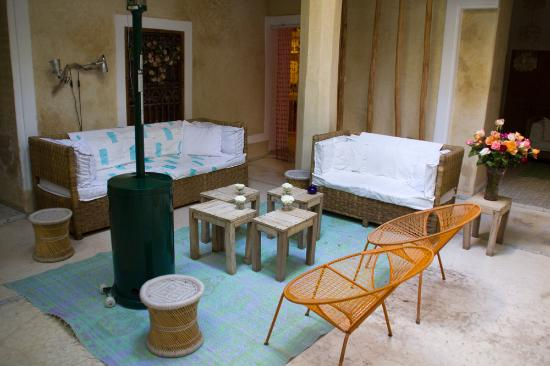 Chambres d'amis: Relax area in Chambre d'Amis