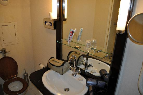 Hotel Quartier Latin: Lavabo bien surtido de amenities