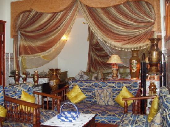 Maison D'Hote El Kasaba: salon