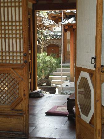 Rakkojae Seoul: Eingang zum Haus