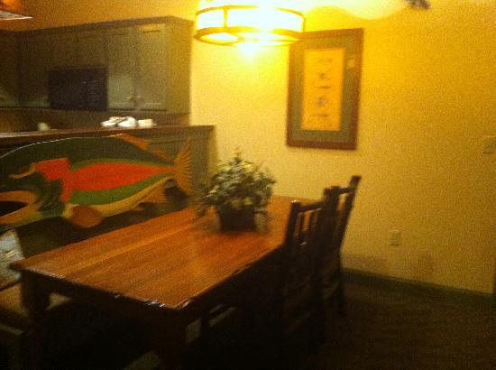 One Bedroom Dining Area Picture Of The Wilderness Club At Big Cedar Ridgedale Tripadvisor